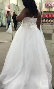 david u0027s bridal jewel tulle plus size wedding dress with beading