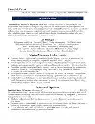 rn resume exle experienced nursing resume sles help desk sle detox