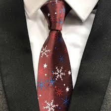 new years ties new design 9 cm men gift necktie new year ties burgundy with