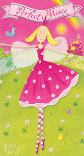 felicity wishes niece birthday card cardspark