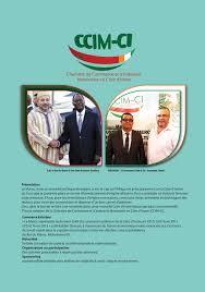chambre de commerce du maroc ccim ci centre de commerce et d industrie marocaine en cote d