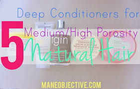 homemade hair reconstructor the mane objective the 5 best deep conditioners for medium high