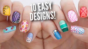20 amazing and simple nail 10 easy nail art designs for beginners the ultimate guide 5