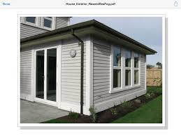 Home Colour Schemes Exterior - exterior colour scheme option 1 resene sea fog weatherboards
