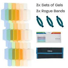 rogue flash gels color correction kit expoimaging inc