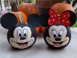 epic minnie mouse painted pumpkin 89 for home decor photos with