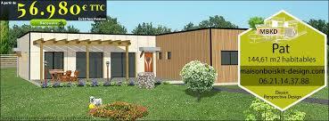 prix maison plain pied 4 chambres catalogue de modèles de maison en bois en kit et chalet bois en kit