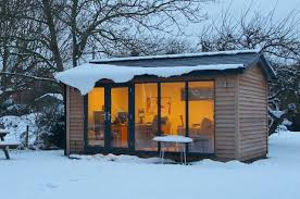 How To Make A House Cozy How To Make The Garden Office Super Cosy For Winter Work From