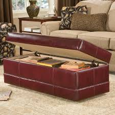 Ottoman Brothers Rectangular Storage Ottoman With Baseband By Smith Brothers Wolf