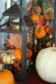 Fall Harvest Outdoor Decorating Ideas - harvest hayride outdoor candle lanterns outdoor candles and