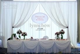 high quality silk wedding backdrop curtain for wedding decor