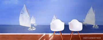 ship boat wall murals
