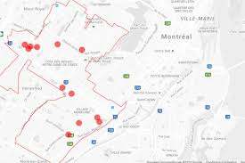 Notre Dame Campus Map Living In Cote Des Neiges Notre Dame De Grace Habiter Montreal