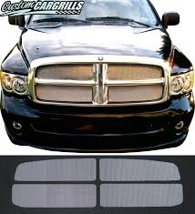 dodge grill 2002 05 dodge ram mesh grill inserts by customcargrills