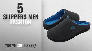 bedroom slippers for men top 10 slippers men fashion winter 2018 rockdove men s two tone