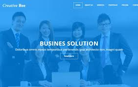 html5 website template free corporate free html5 web template