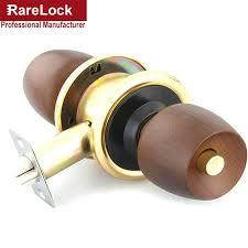 Interior Keyless Door Locks Interior Door Locks Supplies Beech Wooden Handle Spherical