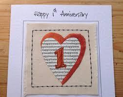 170 Wedding Anniversary Greetings Happy 1st Anniversary Card