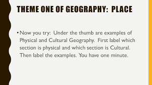 Different Types Of Maps Map Skills Part I 5 Themes Of Geography Do Now There Are Numerous