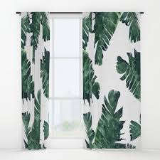 palmleaves window curtains society6