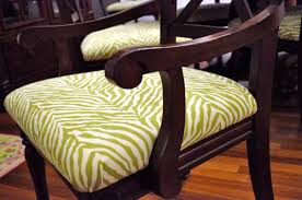 How To Reupholster Dining Chair Attractive Reupholstering Dining Room Chairs With How To