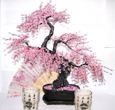 Beaded Home Decor Bonsai Beaded Tree Home Decor Sakura A Tree Is An Unusua U2026 Flickr