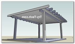 Patio Cover Plans Free Standing by Diy Free Standing Patio Cover Plans Patios Home Furniture