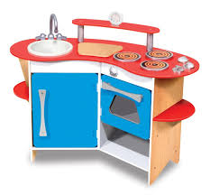 melissa doug cook s corner wooden kitchen pretend playset toys melissa doug cook s corner wooden kitchen pretend playset