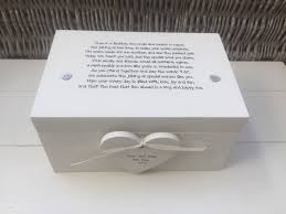wedding gift keepsake box shabby personalised chic wedding present large gift