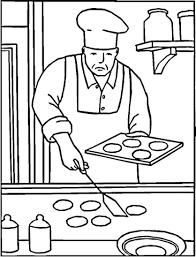 Baking Cookies Coloring Page Free Printable Coloring Pages Coloring Cookies