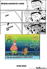 Confession Bear Meme - rmx i like the confession bear meme by mamalovejoy meme center