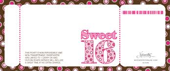 sweet 16 invitations sweet 16 boarding pass invitations by noteworthy collections