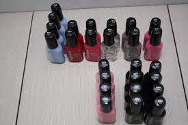 lot of 26 sally hansen hard as nails nail polish lacquer lot