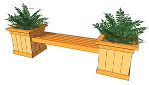 Outdoor Modern Bench Garden Bench Plans 2x4 Home Outdoor Decoration