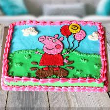 peppa pig cake peppa pig cake winni in