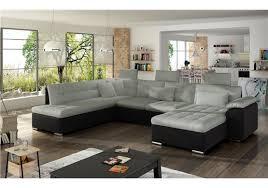 canapé panoramique tissu canapé d angle convertible en u altan design