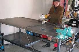 diy portable welding table how to build a welding table 4wheel off road magazine