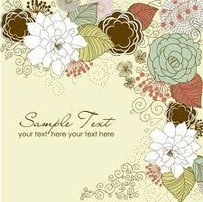 Design Patterns For Cards Floral Greeting Card Design Free Vector Download 18 462 Free