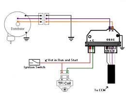 wiring diagram for hei distributor powerking co