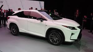 lexus crossover 2016 there are no plans for lexus rx f high performance crossover yet