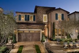 The Tuscan House Bella Vista At Porter Ranch Bluffs Collection The Saratoga