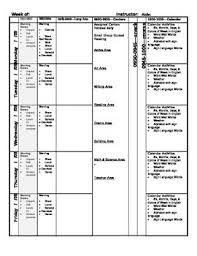 100 weekly lesson plan template common core common core lesson
