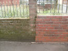 Clean Wall by Brick Walls Pressure Cleaned Cardiff Concrete Walls Cleaned