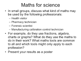Skills On A Resume Example by 6 1 Using Mathematics