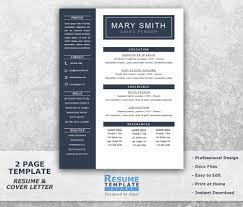 One Page Resume Samples by One Page Resume Template Word Resume Cover Letter Templates