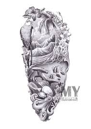 this would be an awesome tattoo i would change a few things to