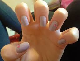 simple but pretty nails this simple nail design is easy t u2026 flickr