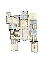 mediterranean style house plan 4 beds 6 50 baths 8129 sq ft plan