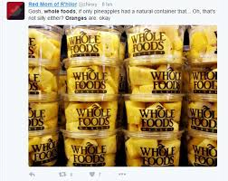 Whole Foods Meme - whole foods pulls pre peeled oranges from shelves after being
