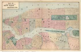 Map Of New York And Manhattan by Old Maps Of Manhattan New York City